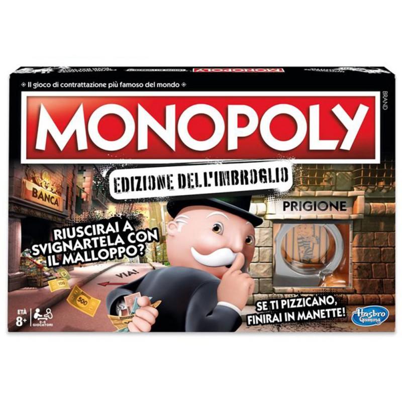 Monopoly Edizione Dell'Imbroglio Hasbro Gaming - MazzeoGiocattoli.it