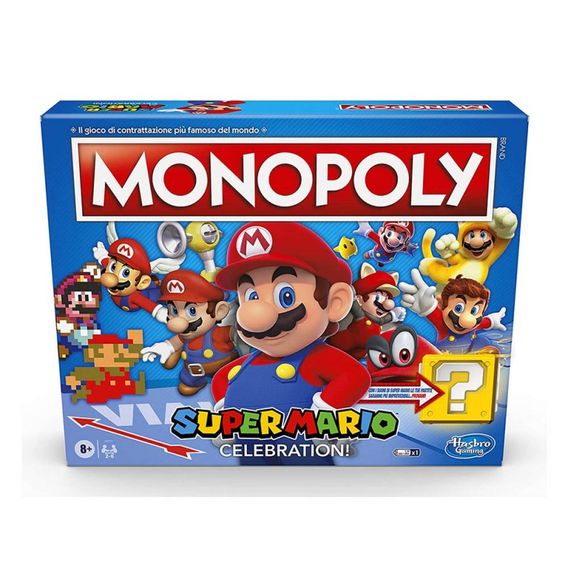 Monopoly Edizione Super Mario Celebration - Hasbro - MazzeoGiocattoli.it