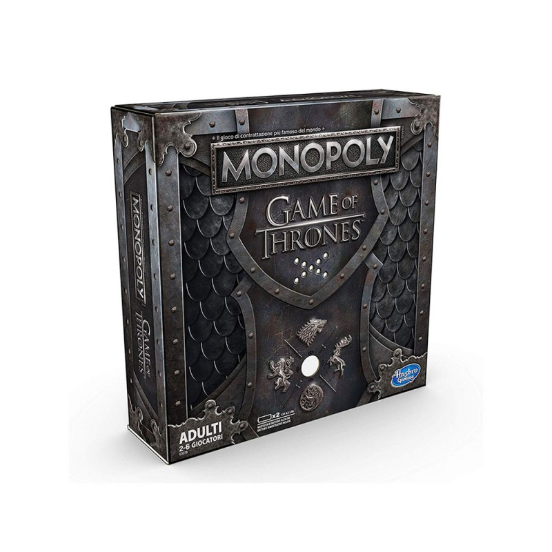 Monopoly Game Of Thrones - Hasbro  - MazzeoGiocattoli.it