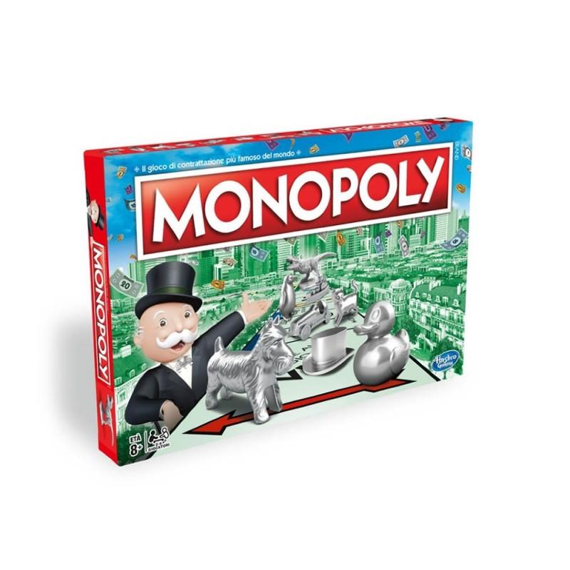 Monopoly Gioco Classico Da Tavolo Hasbro - MazzeoGiocattoli.it