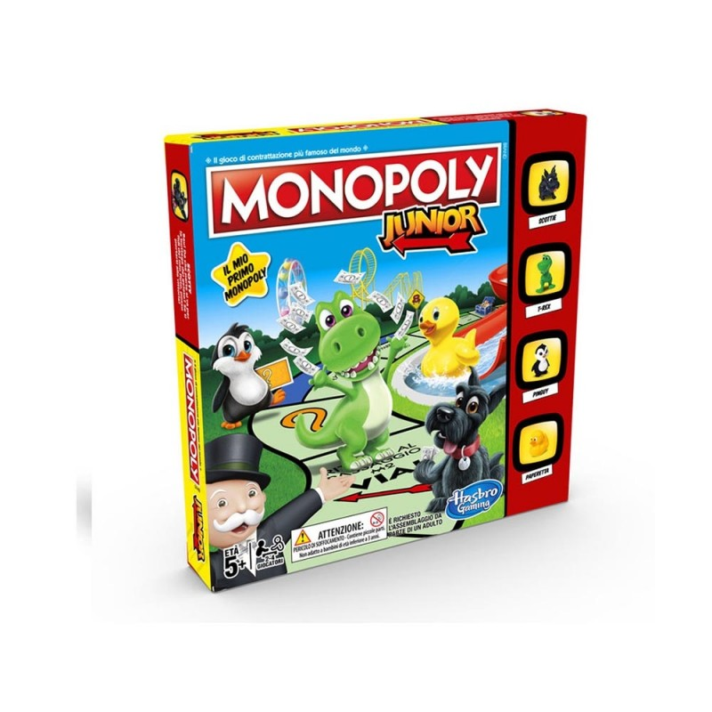 Monopoly Junior - Hasbro - MazzeoGiocattoli.it
