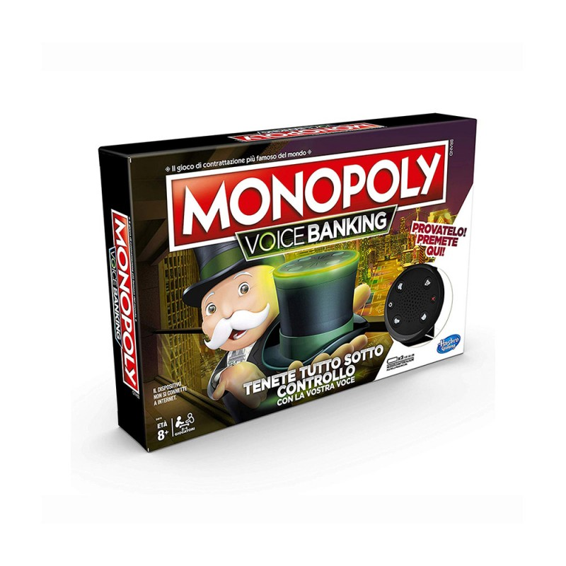 Monopoly Voice Of Banking - Hasbro  - MazzeoGiocattoli.it