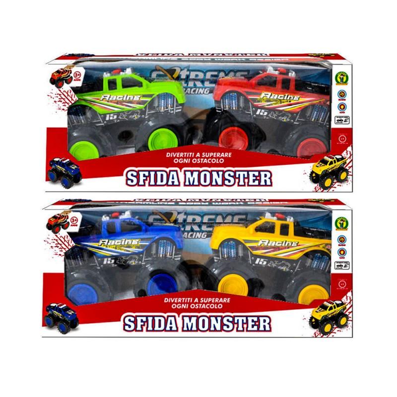 Modellini Monster Truck - Sfida Monster - Mazzeo Giocattoli - MazzeoGiocattoli.it