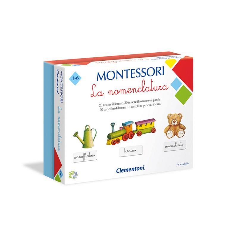 Montessori La Nomenclatura - Clementoni  - MazzeoGiocattoli.it