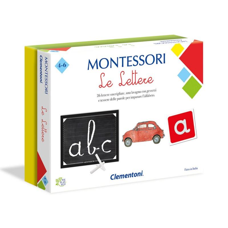 Montessori  Le Lettere - Clementoni  - MazzeoGiocattoli.it