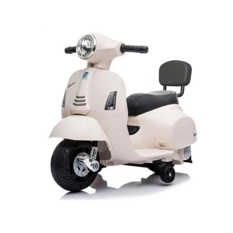 Moto Cavalcabile Vespa Bianca Gts 6v  - MazzeoGiocattoli.it