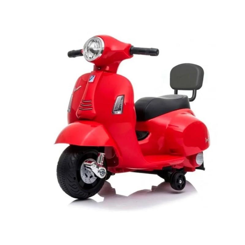 Moto Cavalcabile Vespa Rossa Gts 6v  - MazzeoGiocattoli.it