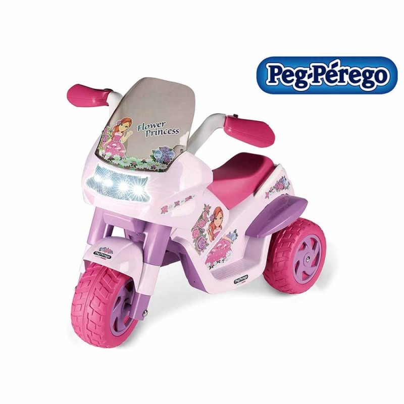 Moto Flower Princess - Peg Perego  - MazzeoGiocattoli.it