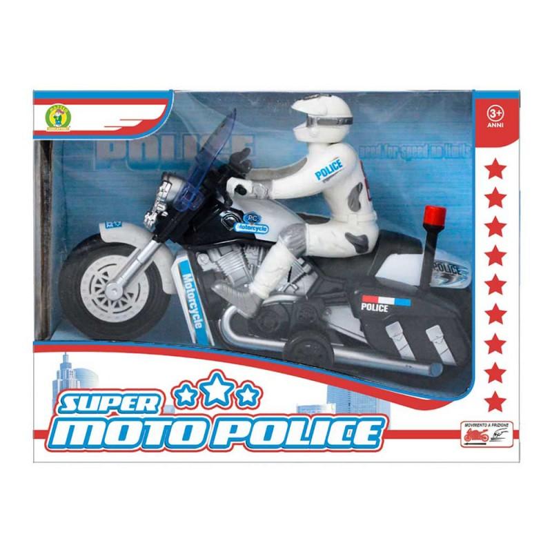 Modellino Moto Polizia - Mazzeo Giocattoli - MazzeoGiocattoli.it