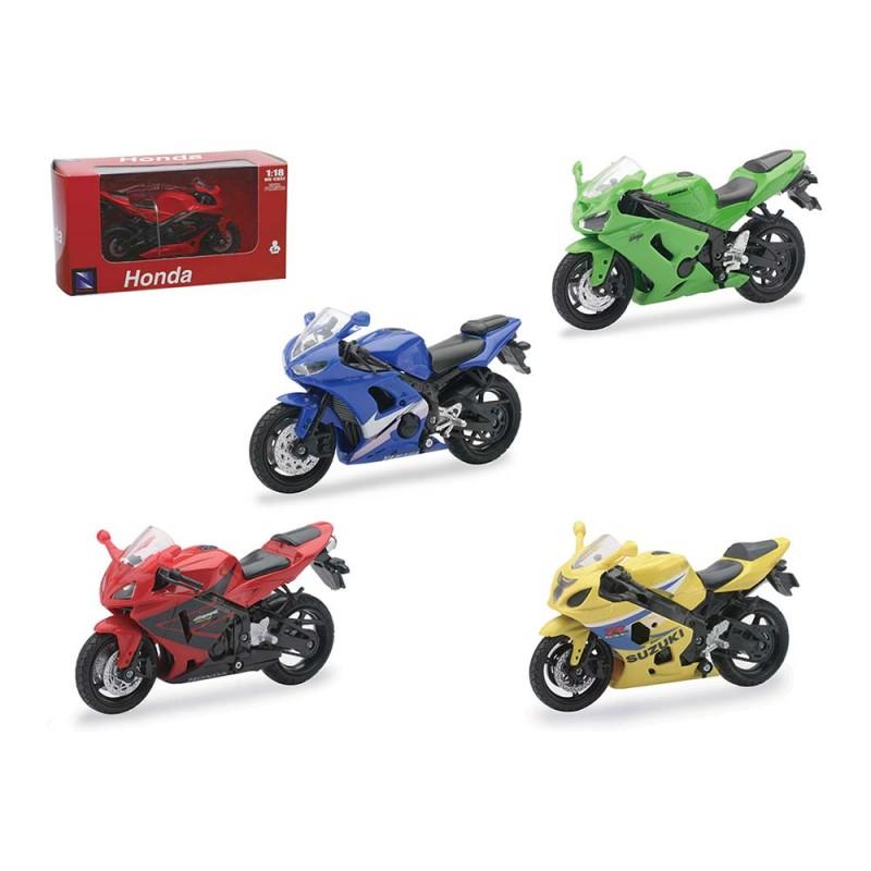 Moto Scala 1 18 Yamaha, Honda, Kawasaki,Suzuki - New Ray - MazzeoGiocattoli.it