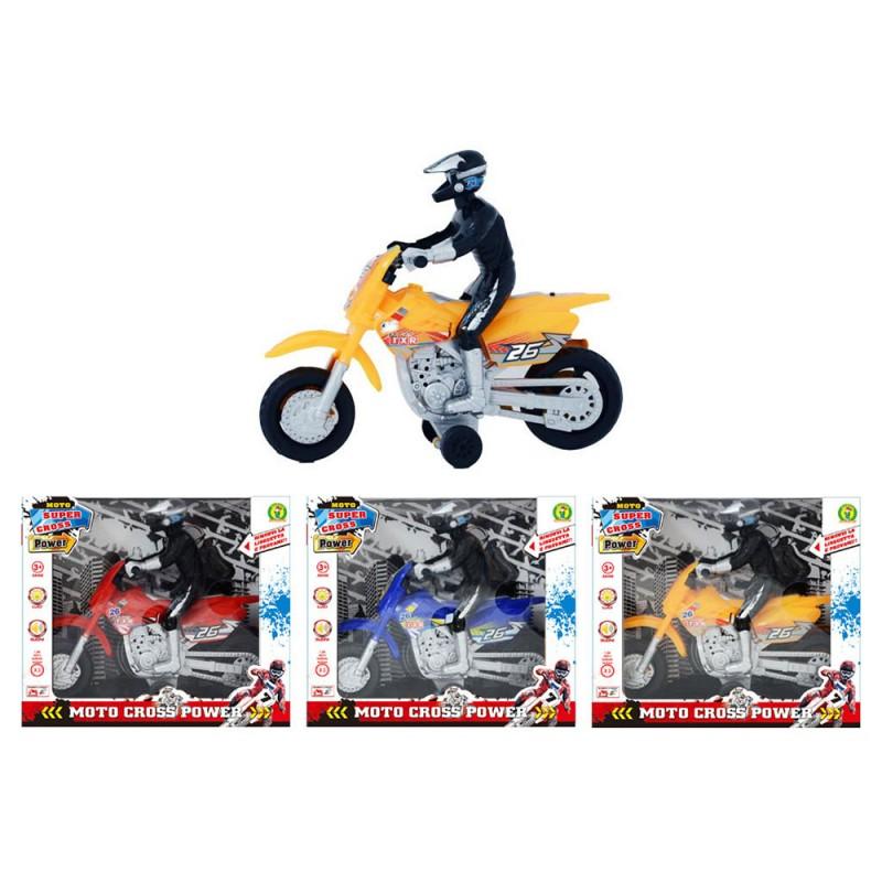 Modellini Motocross Con Luci E Suoni - Mazzeo Giocattoli - MazzeoGiocattoli.it