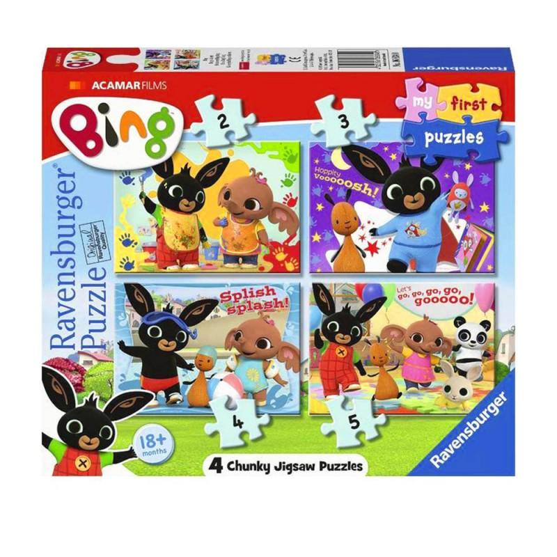 My Fisrt Puzzle Bing - Ravensburger  - MazzeoGiocattoli.it