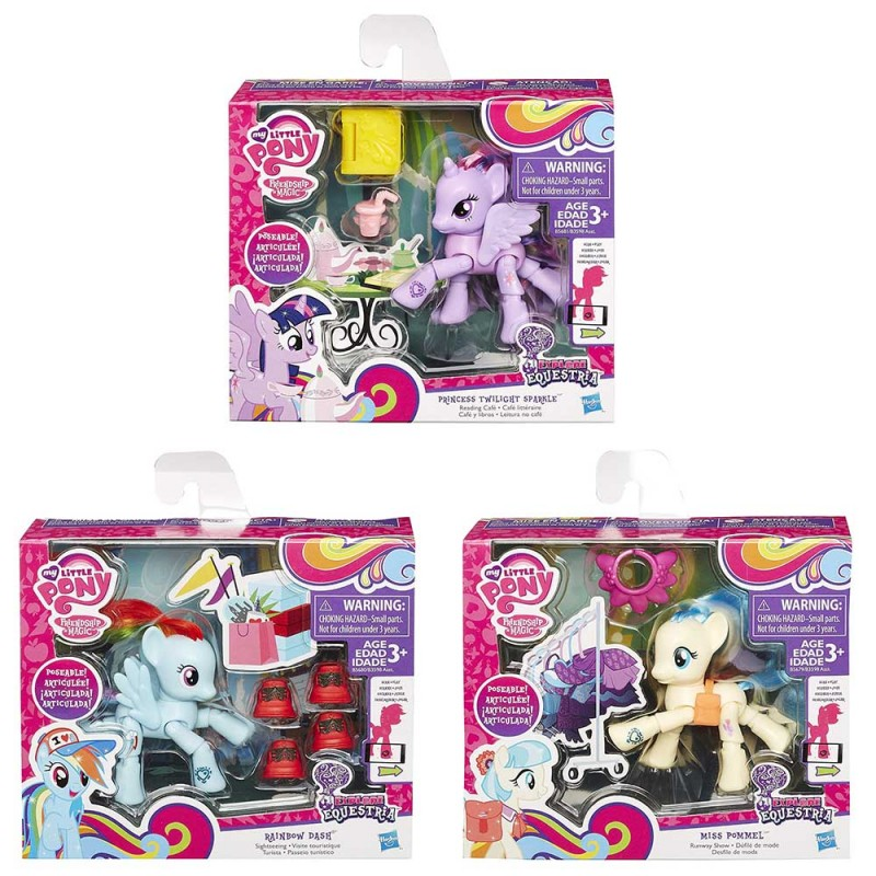 My Little Pony Pony Articolati - Hasbro - MazzeoGiocattoli.it