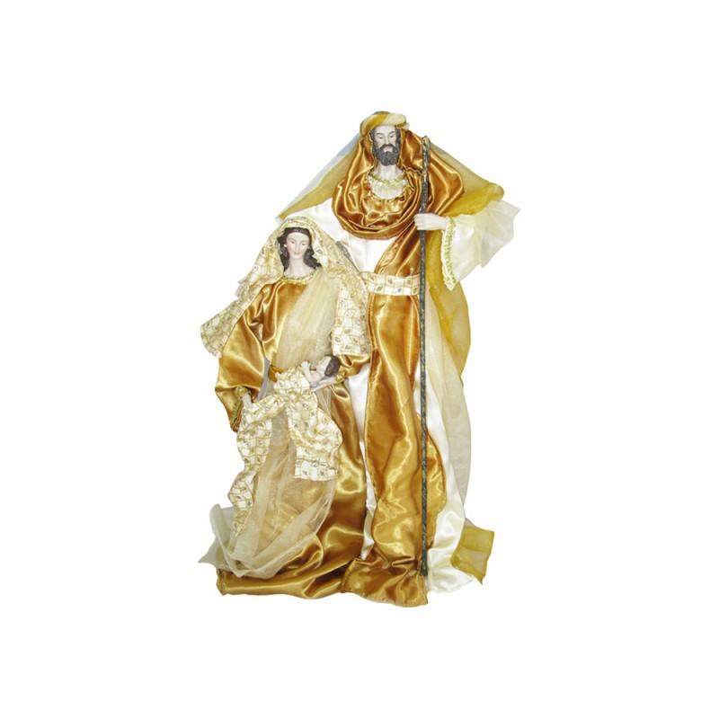 Natività In Resina 58 Cm Vestito Color Oro - MazzeoGiocattoli.it
