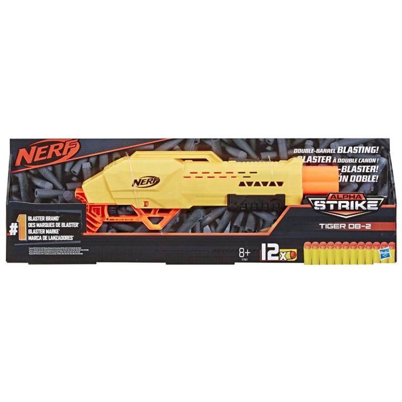 Nerf Alpha Strike Tiger Db2 - Hasbro  - MazzeoGiocattoli.it