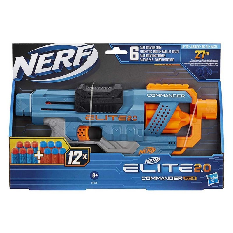Nerf Elite 2.0-Commander RD-6 - Hasbro  - MazzeoGiocattoli.it