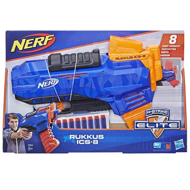 Nerf Elite Rukkus ICS 8 - Hasbro  - MazzeoGiocattoli.it