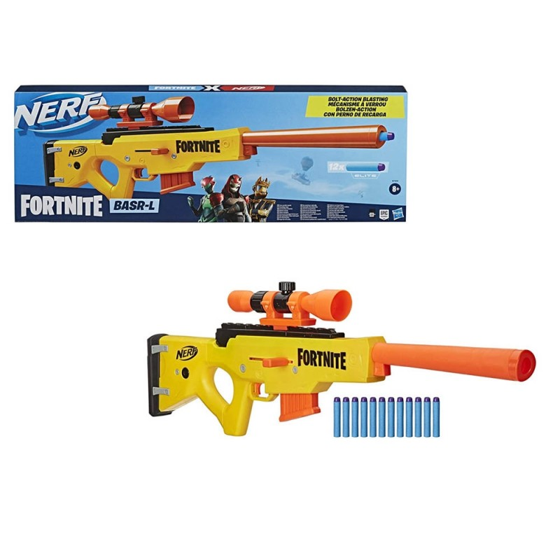 Nerf Fortnite - BASR - L Bolt Action - Hasbro  - MazzeoGiocattoli.it