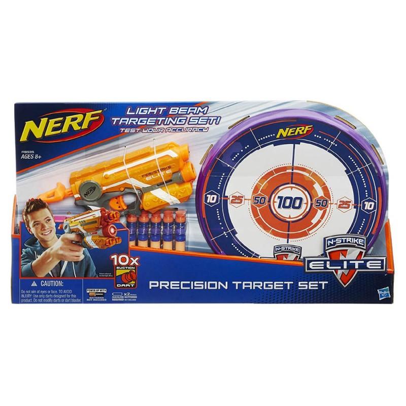Nerf Kit Di Precisione Con Blaster - Hasbro  - MazzeoGiocattoli.it