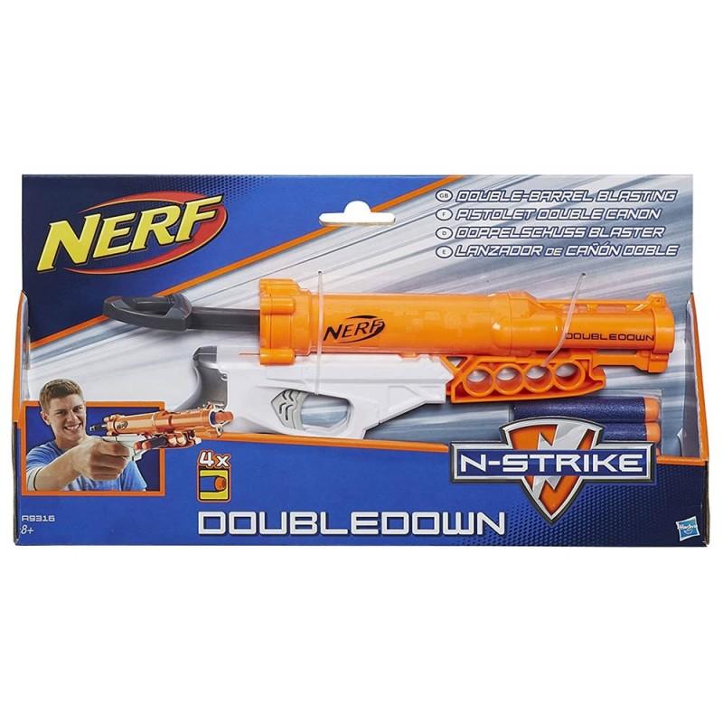 Nerf N-Strike Elite Double Down - Hasbro  - MazzeoGiocattoli.it