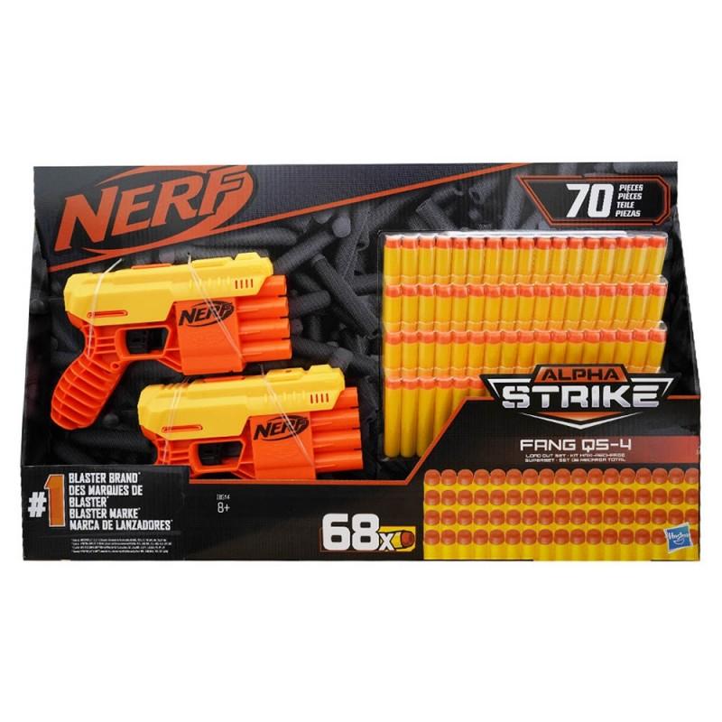 Nerf N-Strike Elite Fang QS-4 - Hasbro  - MazzeoGiocattoli.it