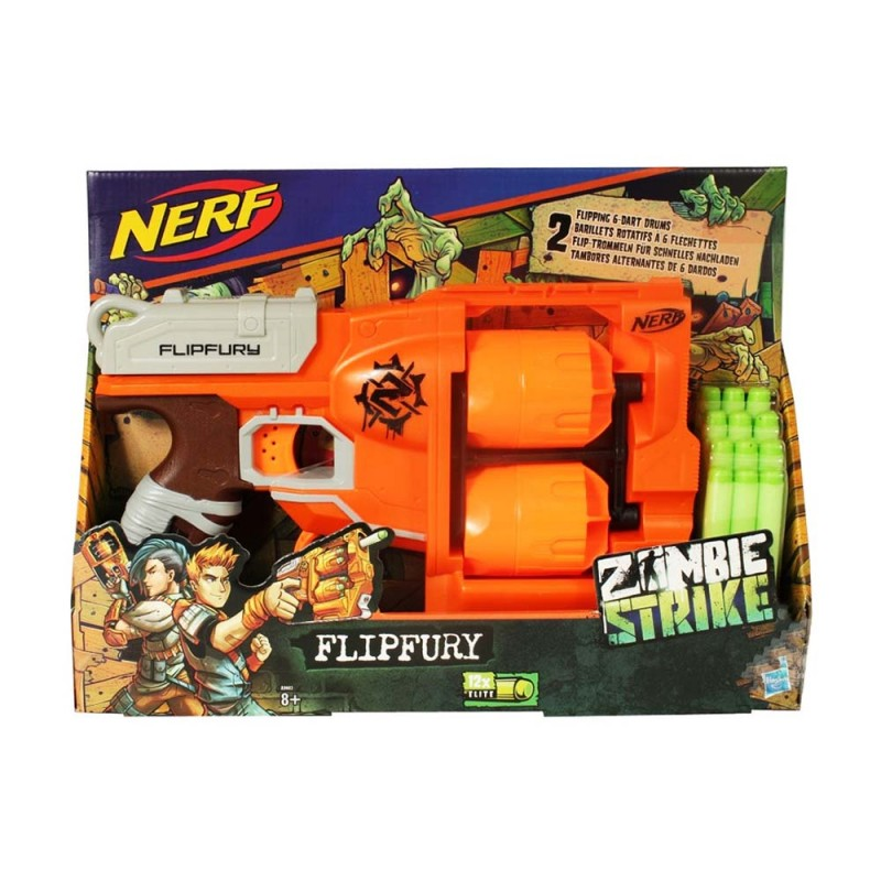 Nerf Zombie Strike - FlipFury - Hasbro  - MazzeoGiocattoli.it