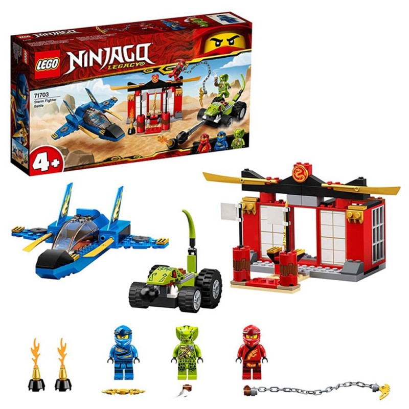 Ninjago Battaglia Sullo Storm Fight - Lego - MazzeoGiocattoli.it