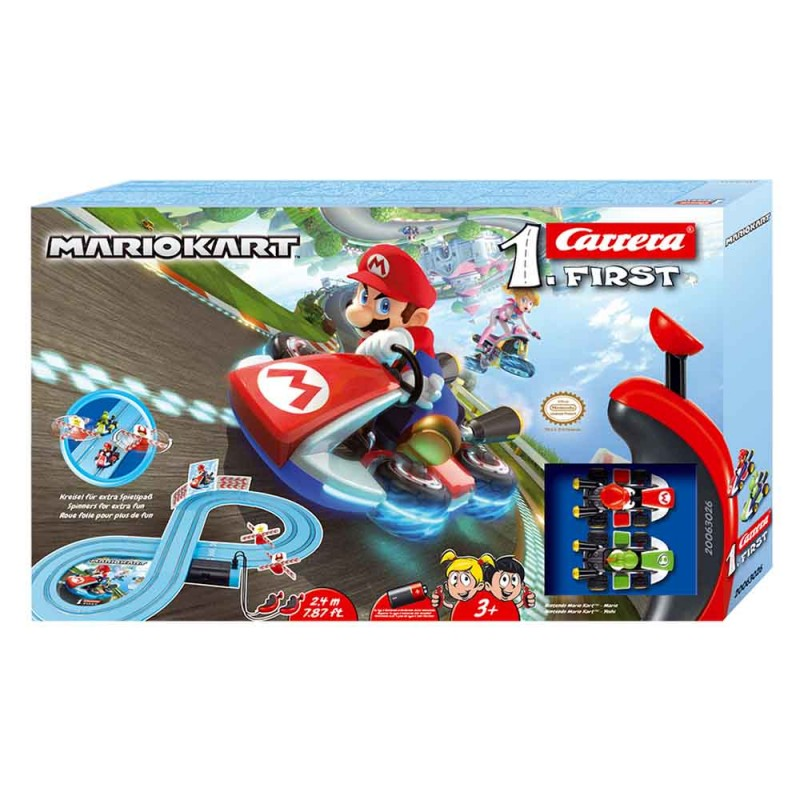 Nintendo Mario Kart - Carrera First  - MazzeoGiocattoli.it