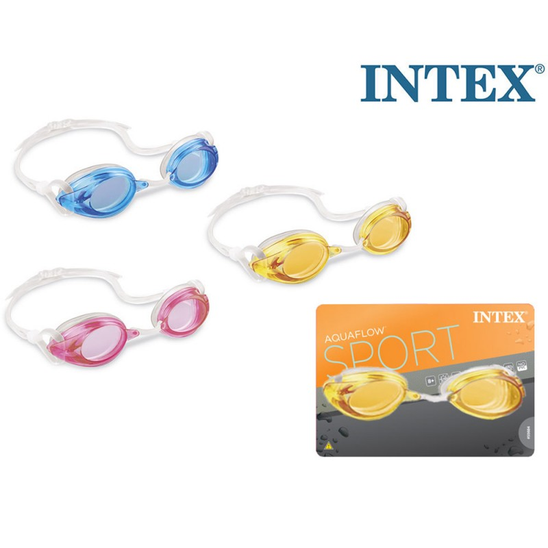 Occhialini Da Nuoto Race Pro - Intex  - MazzeoGiocattoli.it