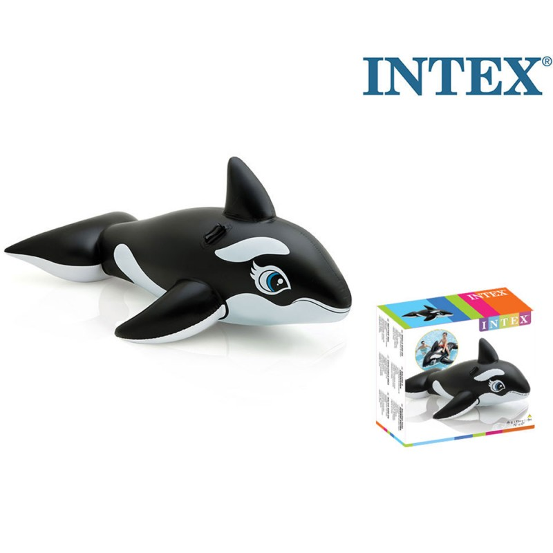 Orca Gonfiabile Cavalcabile 193cm - Intex  - MazzeoGiocattoli.it