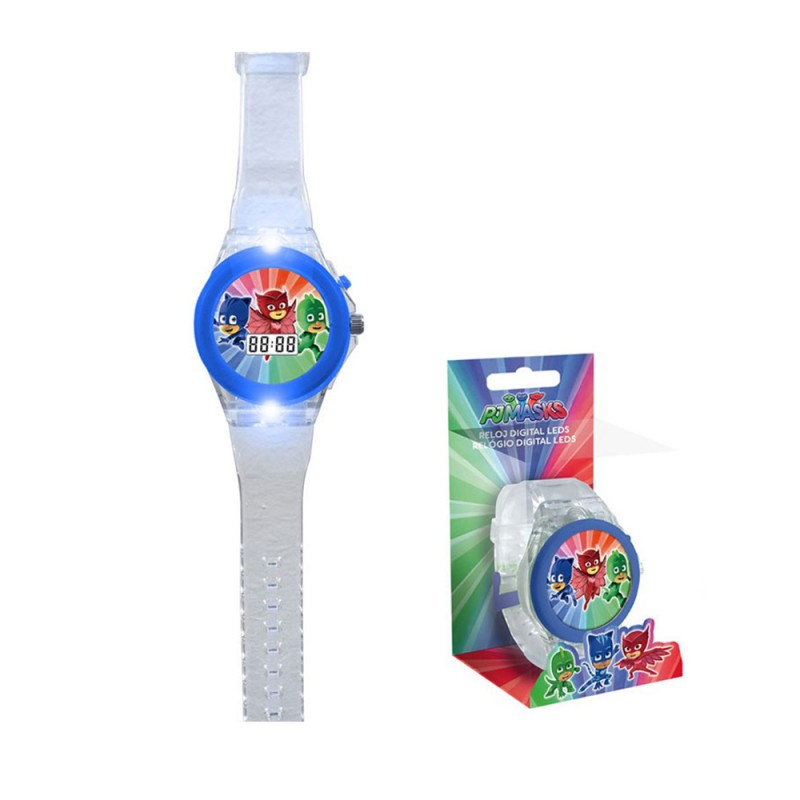 Orologio Da Polso Digitale PJ Masks  - MazzeoGiocattoli.it