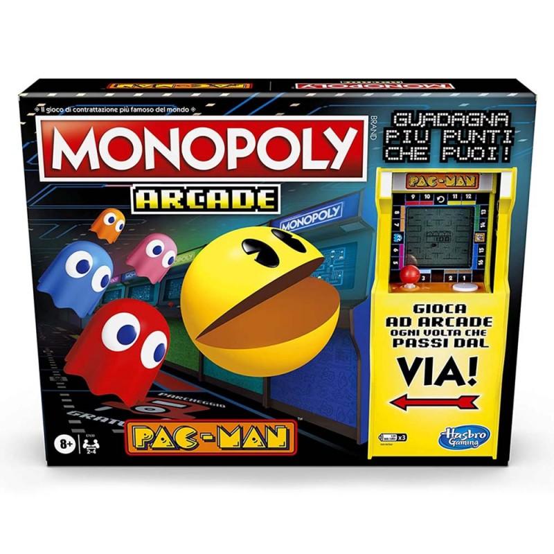 Monopoly Arcade Pacman - Hasbro  - MazzeoGiocattoli.it