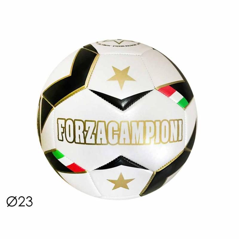 Pallone Da Calcio Bianco Nero 23 Cm - Mazzeo Giocattoli - MazzeoGiocattoli.it