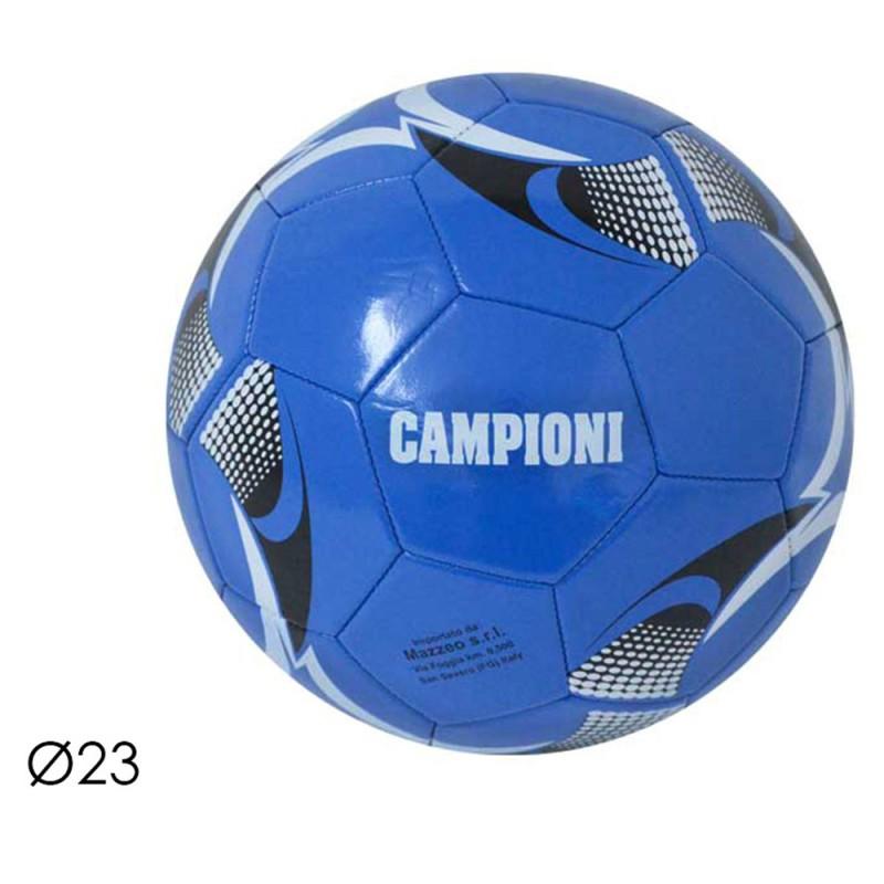 Pallone Da Calcio Campioni Neroazzurro - Mazzeo Giocattoli  - MazzeoGiocattoli.it