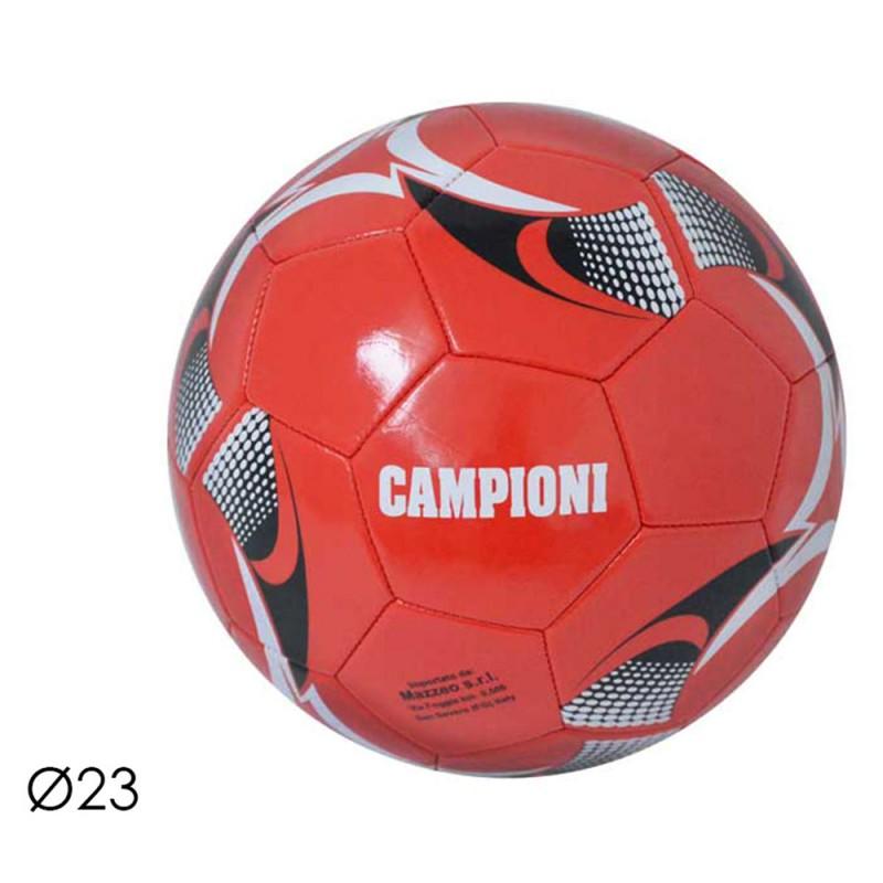 Pallone Da Calcio Campioni Rossonero - Mazzeo Giocattoli  - MazzeoGiocattoli.it