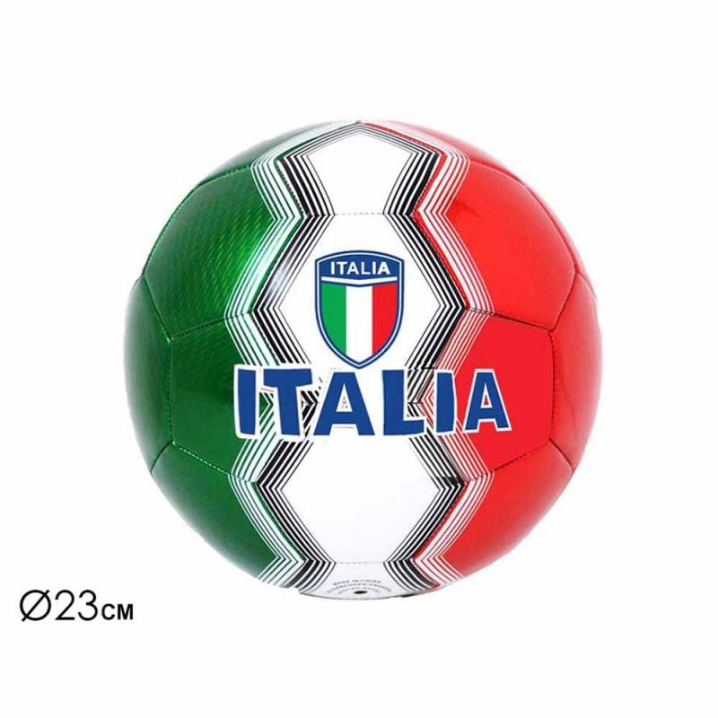 Pallone Da Calcio Tricolore 23 Cm - Mazzeo Giocattoli - MazzeoGiocattoli.it