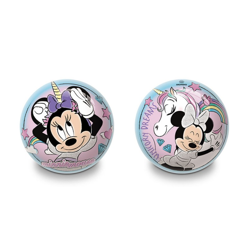 Pallone Minnie 14 Cm - Mondo  - MazzeoGiocattoli.it