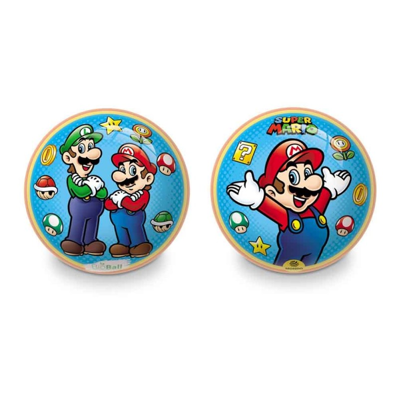 Pallone Super Mario 23 Cm - Mondo - MazzeoGiocattoli.it