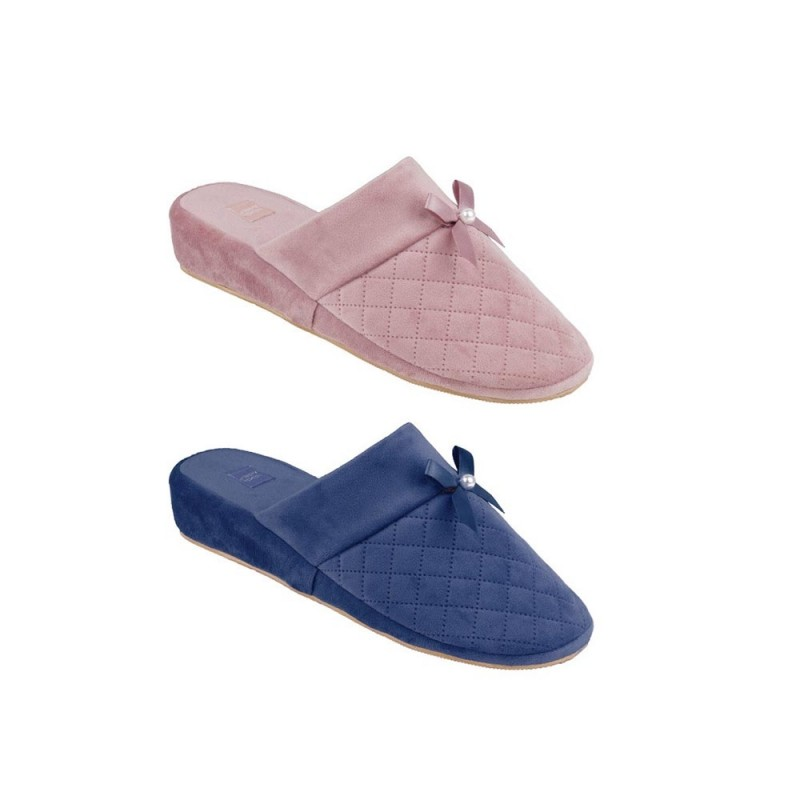 Pantofola Per Donna In Poliestere Modello Campitello  - MazzeoGiocattoli.it