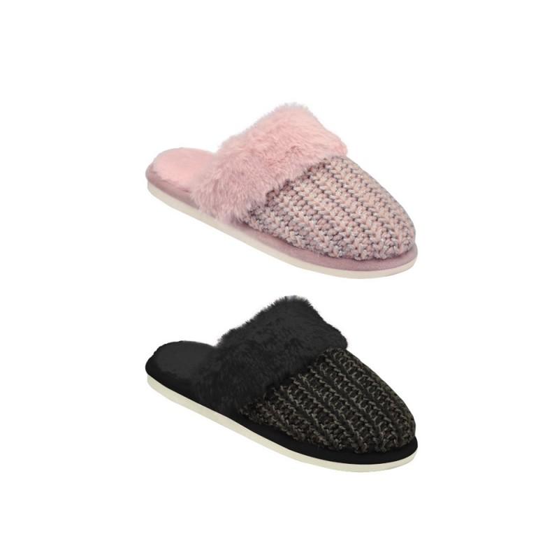 Pantofola Per Donna In Poliestere Modello Perugia - MazzeoGiocattoli.it