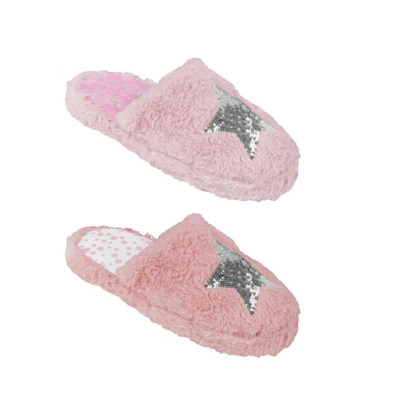 Pantofola Per Donna In Poliestere Modello Star  - MazzeoGiocattoli.it