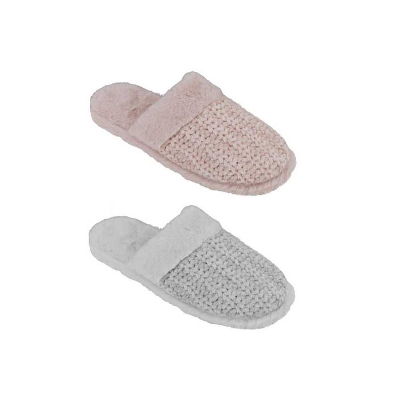 Pantofola Per Donna In Tessuto Modello Monopoli  - MazzeoGiocattoli.it