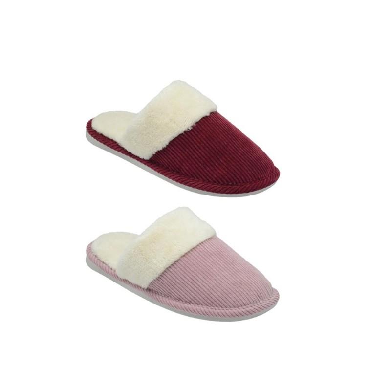 Pantofola Per Donna In Velluto Modello Venezia  - MazzeoGiocattoli.it