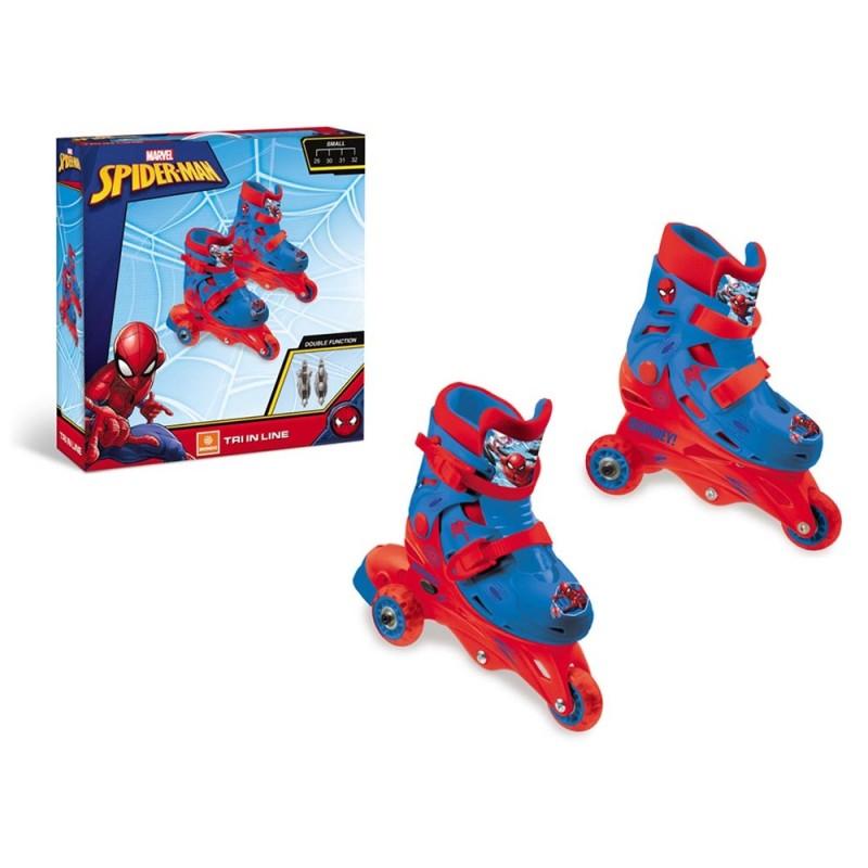 Pattini In Linea Bimbo Spider Man - Mondo - MazzeoGiocattoli.it