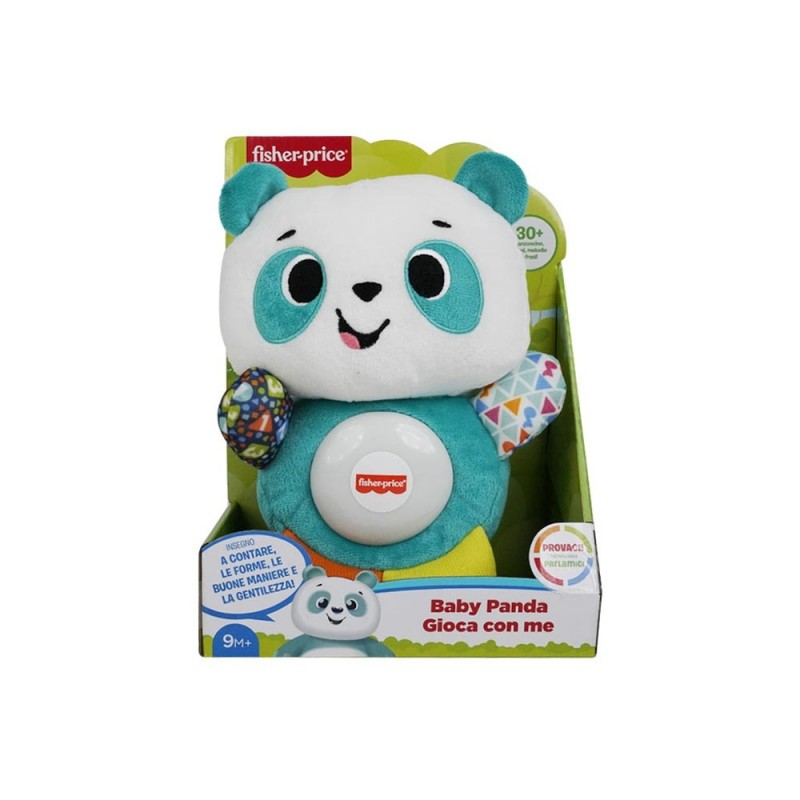 Peluche Baby Panda Gioca Con Me - Fisher Price  - MazzeoGiocattoli.it