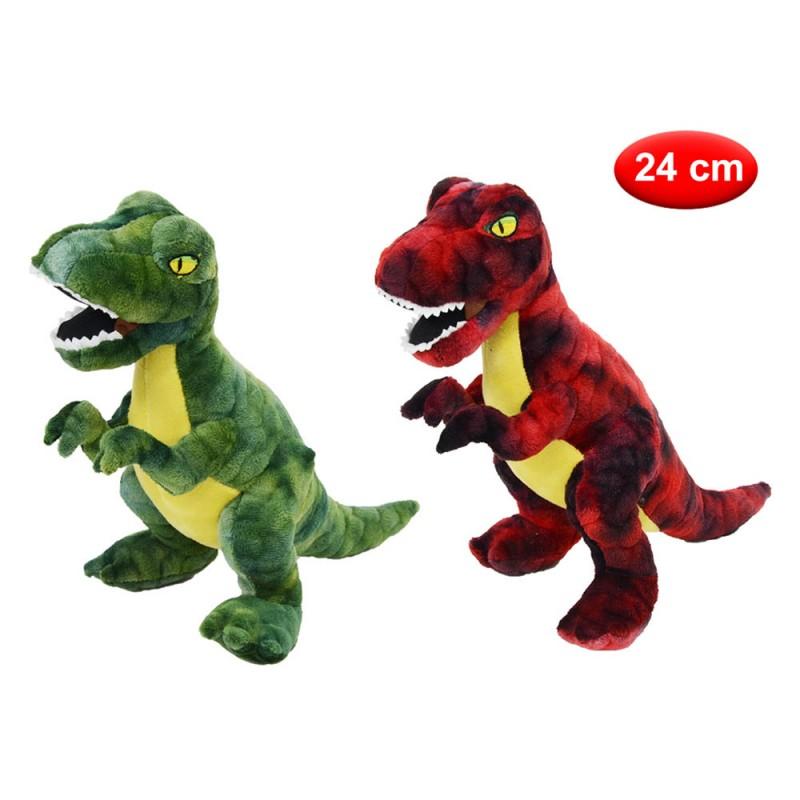 Peluche Dinosauro Cm 24 - Mazzeo Giocattoli  - MazzeoGiocattoli.it