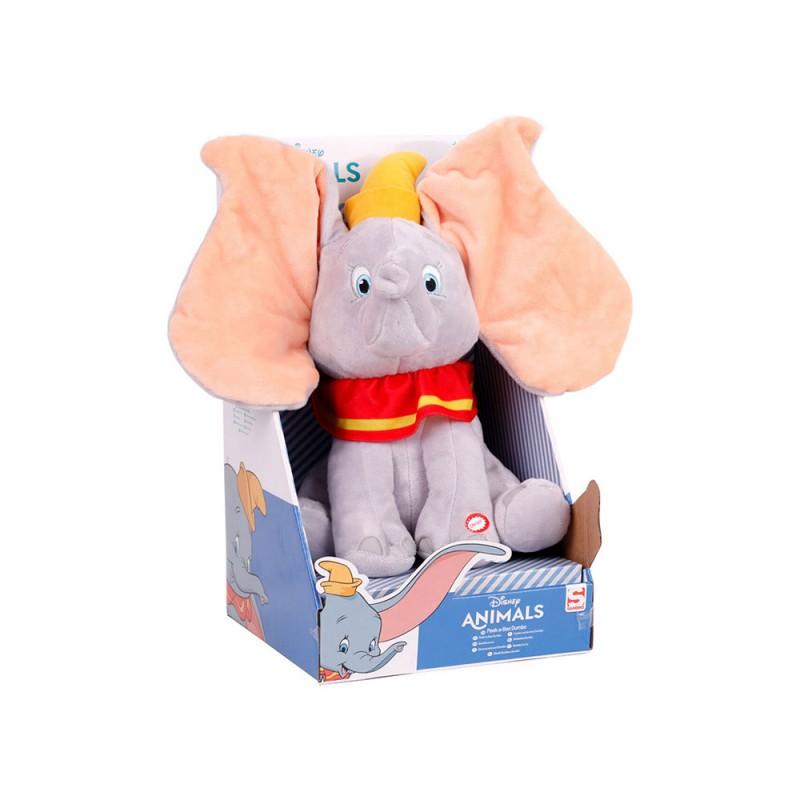 Peluche Dumbo Interattivo 30cm - Sambro  - MazzeoGiocattoli.it