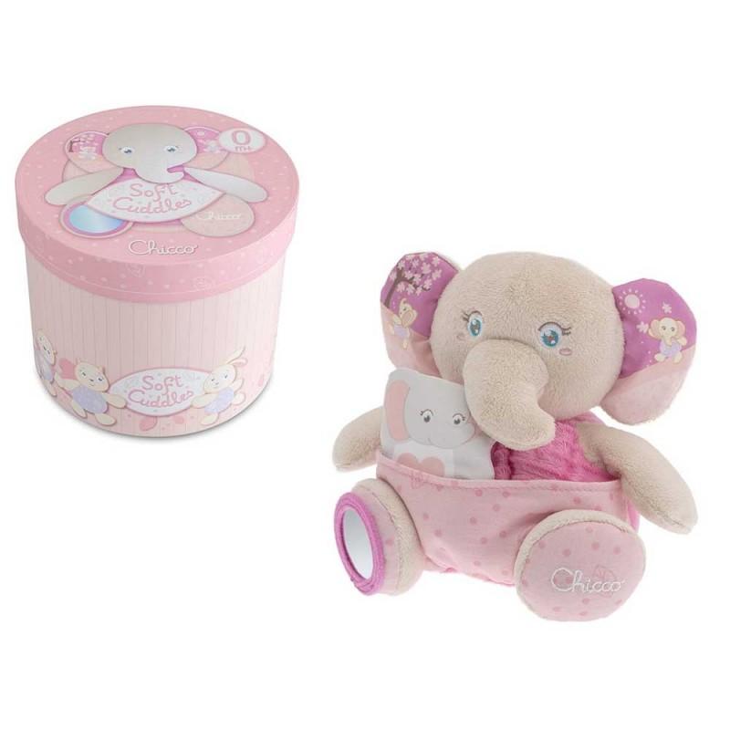 Peluche Elefante Rosa - Chicco - MazzeoGiocattoli.it