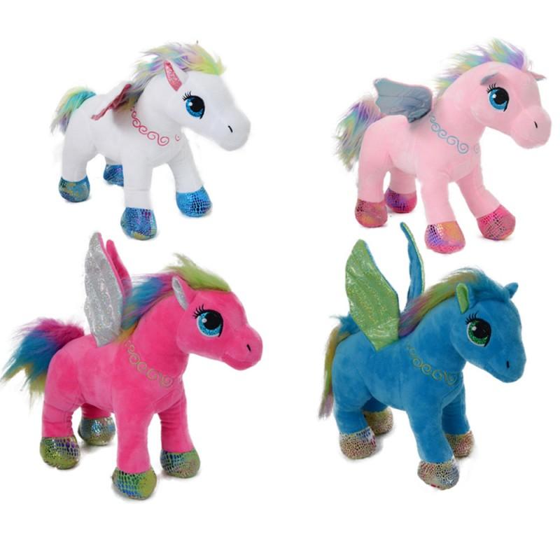 Peluche Magico Pony 25cm - Mazzeo Giocattoli - MazzeoGiocattoli.it