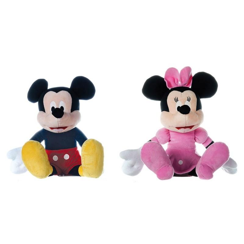 Peluche Mickey E Minnie Mouse 30cm - Disney  - MazzeoGiocattoli.it